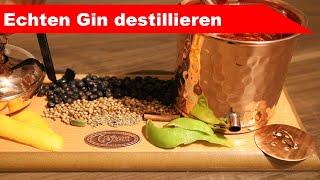 🌷 Echten Gin seĮber machen 🌻 - daheim Schnaps brennen mit der Mini-Destille - diSTILLed