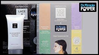 Dermovia X Dr. Pimple Popper | Lace Your Face Masks