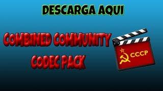 Descarga el mejor paquete de codecs (CCCP)