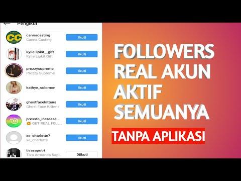 Cara Menambah Followers Instagram Secara Gratis Tanpa Aplikasi Youtube