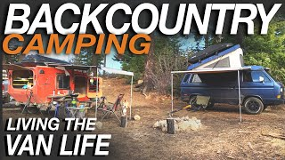 Backcountry Camping - Living The Van Life & Primal Outdoors