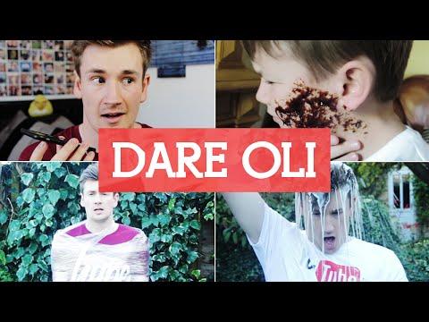 I GET MESSY! - Dare Oli #1   OliWhiteTV