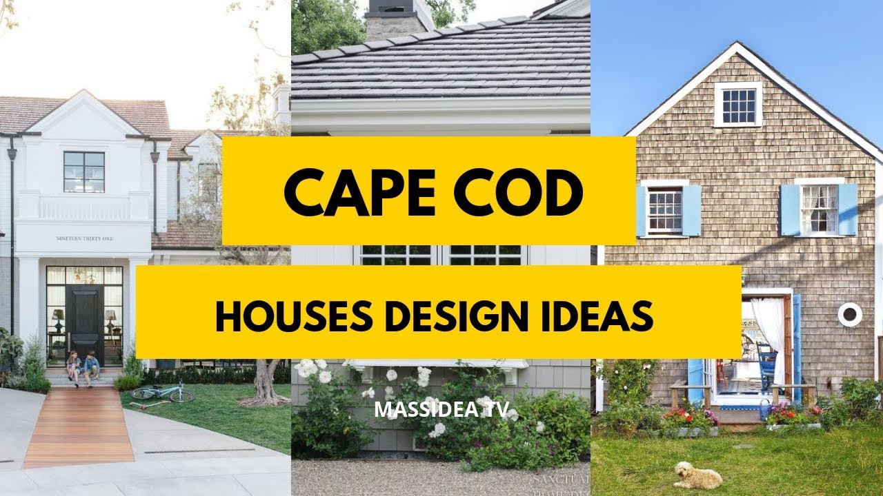 Amazing Cape Cod Houses Design Ideas In