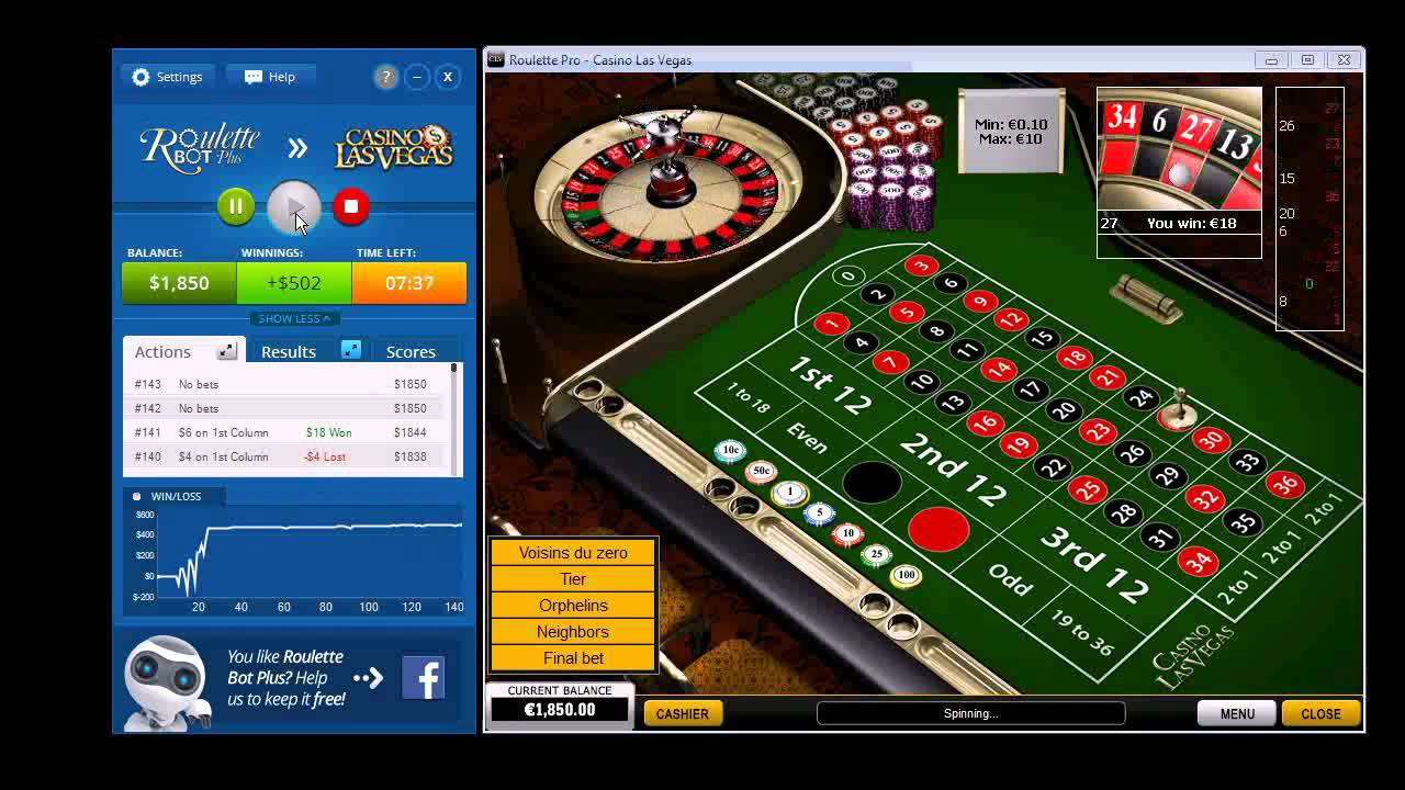 Online roulette robot free to play horror games