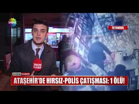 Ataşehir'de Hırsız-Polis çatışması: 1 ölü!