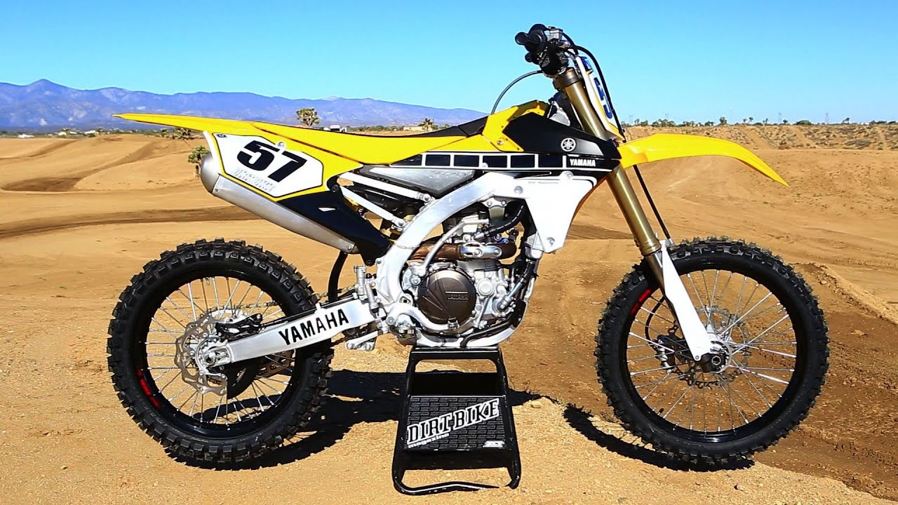 2016 yamaha yz450f the 16s dirt bike magazine youtube. Black Bedroom Furniture Sets. Home Design Ideas