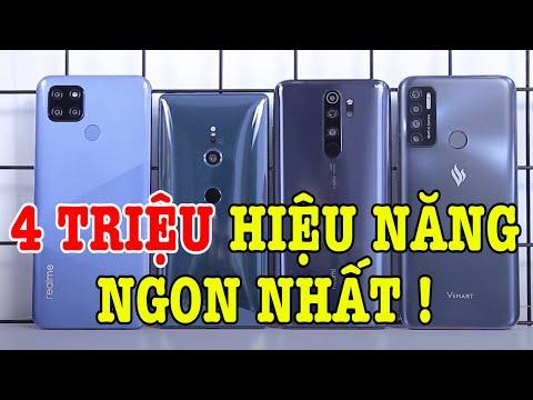 Top 5 điện thoại HIỆU NĂNG TỐT NHẤT tầm giá 4 TRIỆU