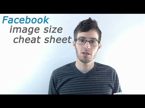 Success on Zibbet - Facebook Image Size Cheat Sheet