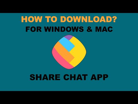 SHARECHAT APP: HOW TO DOWNLOAD FOR PC? WINDOWS & MAC (2020)