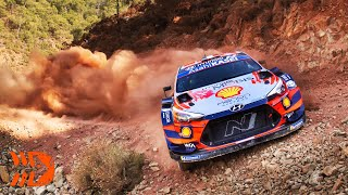 The Best of WRC Rally 2020   Crashes, Action, Maximum Attack