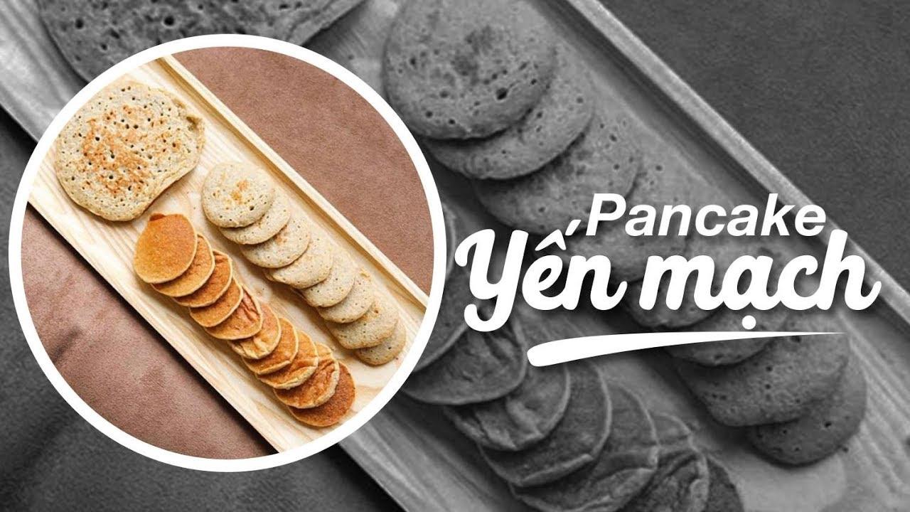 Eat Clean #13 | Cách để ăn yến mạch cực ngon | Bánh pancake yến mạch  ♡ Hana Giang Anh