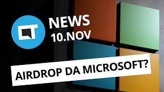 Windows 10 vai copiar o AirDrop da Apple; Nova trilogia de Star Wars e+ [CT News]