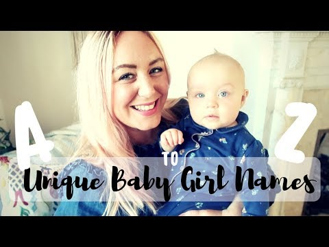 Unique Baby Girl Names A-Z With Meanings | SJ STRUM Baby Name Mondays