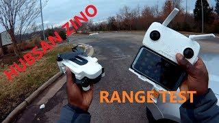 Hubsan Zino H117S Review 3 - Range Test