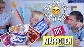 BACK TO SCHOOL DIY CANDY MÄPPCHEN Schule 2018 MaVie