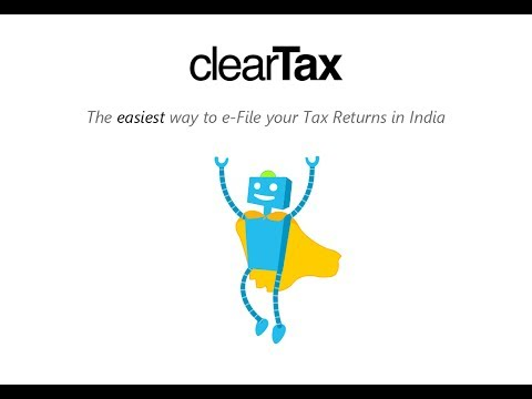 ClearTax - www.cleartax.in - India's easiest tax return e-filing website