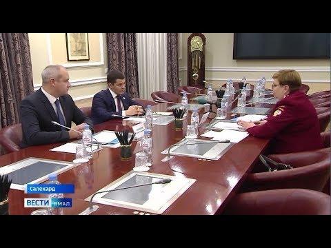 Дмитрий Артюхов обсудил с главой Роспотребнадзора ЯНАО план мероприятий по профилактике коронавируса