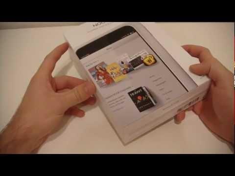 Barnes & Noble Nook HD Unboxing