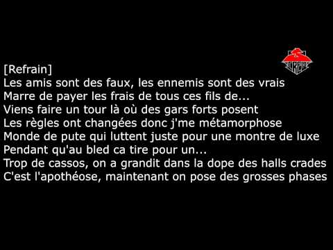 Paroles - S-crew - Métamorphose