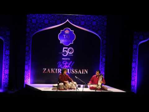 Ustad Zakir Hussain Sir and Sabir Khan ji  -Hyderabad