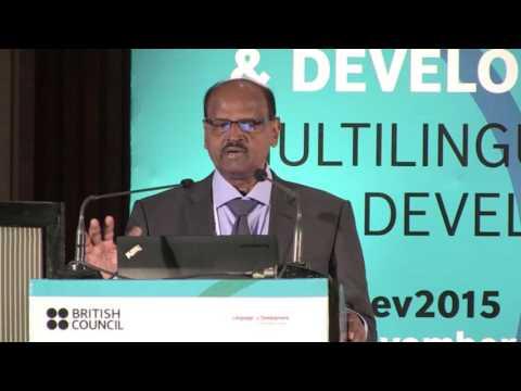 LangDev2015: Thaiyamuthu Thanaraj   Multilingualism - A Sri Lankan Case