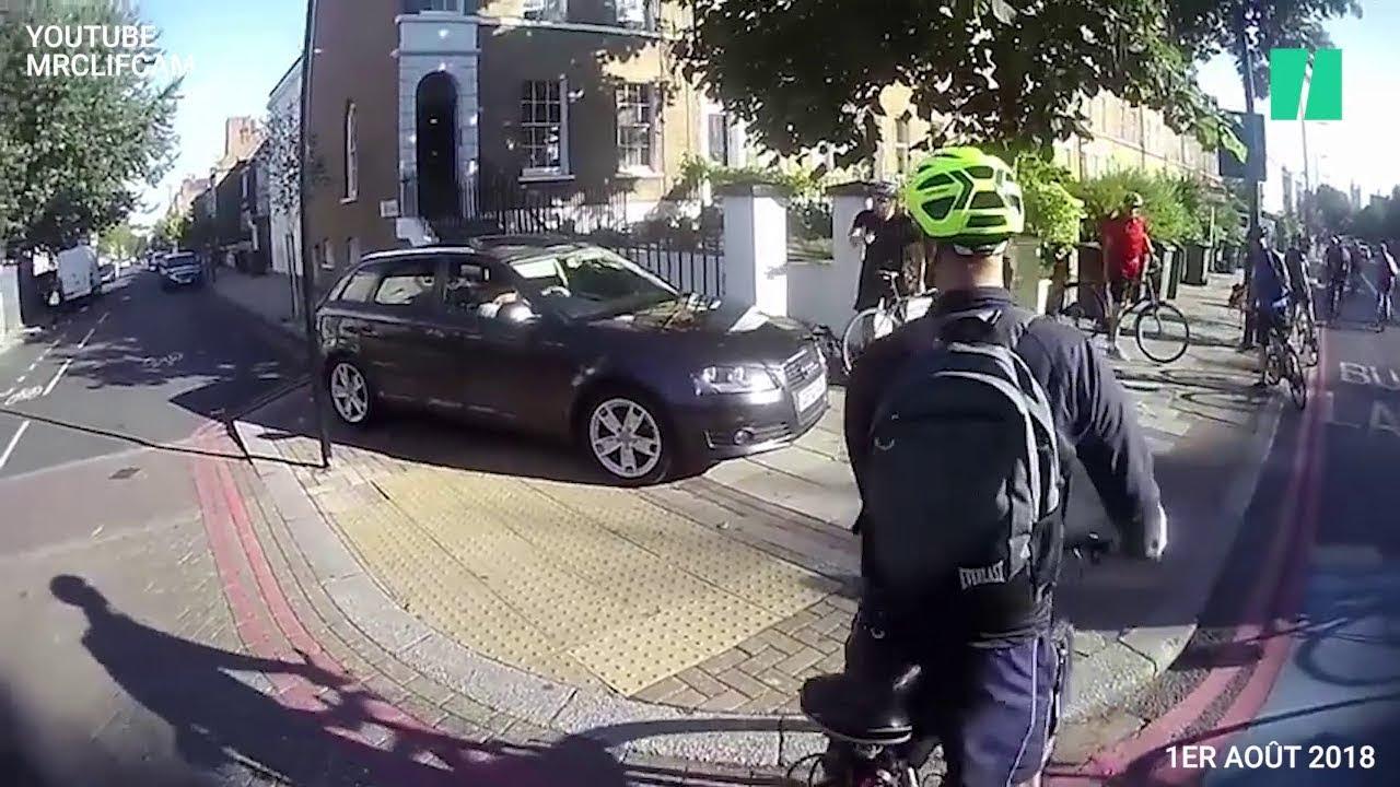 Download Cet automobiliste a un sérieux problème avec les cyclistes
