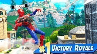 HOW TO *GET* the **SPIDERMAN SKIN** in FORTNITE (LINK DOWNLOAD)