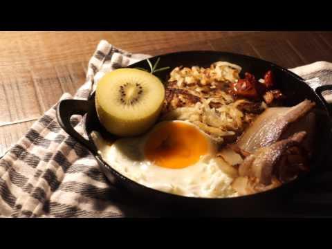 香酥馬鈴薯餅vs香滑馬鈴薯泥,一種馬鈴薯變化雙重口感