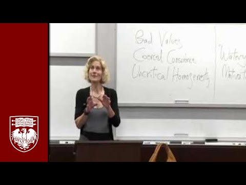 Teaching Patriotism: Martha Nussbaum - Professor Of Law And Ethics