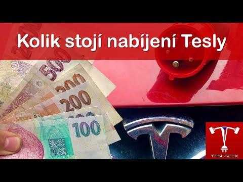 #117 Rok s Teslou Kolik stojí nabíjení | Teslacek