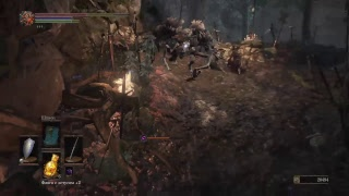 Dark souls 3 - ядовитое болото