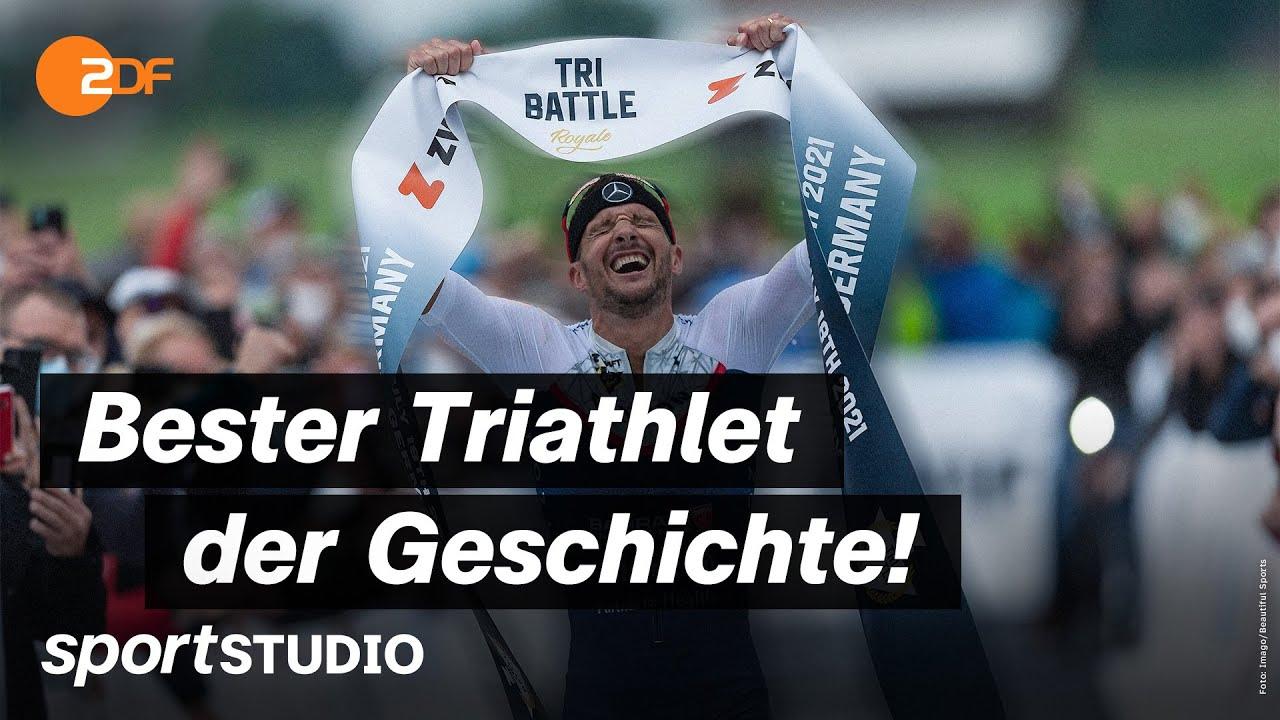 Jan Frodeno stellt spektakulären Triathlon-Weltrekord auf | sportstudio