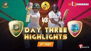 Full Highlights   Bangladesh vs West Indies   2nd Test Day 03   West Indies tour of Bangladesh, 2021