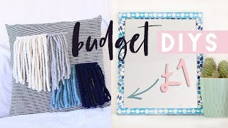 Budget Home Decor DIYs, Poundland & Dollar Tree DIY Projects