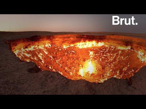Turkm nistan la porte de l 39 enfer youtube - Turkmenistan porte de l enfer ...