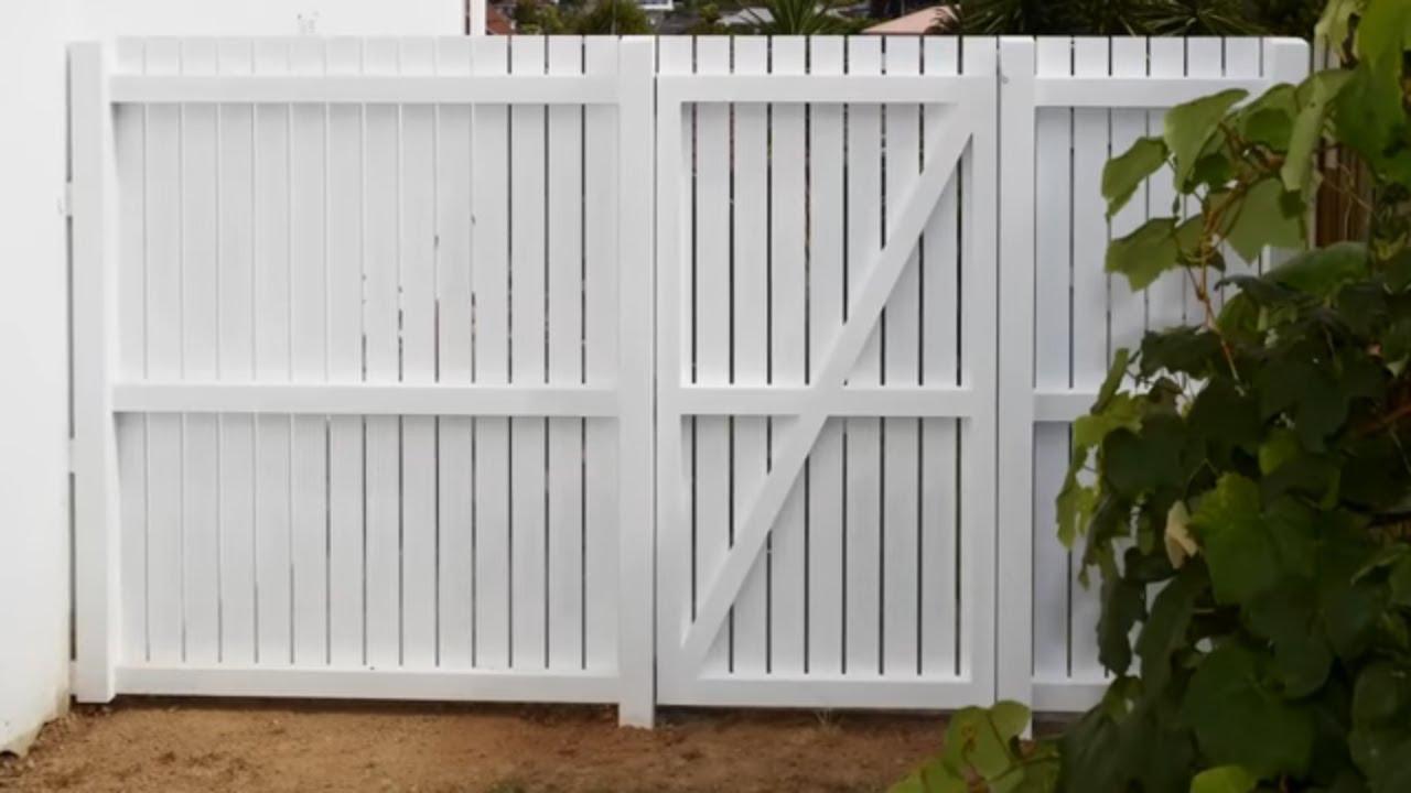 How to build a wooden gate  Mitre 10 Easy As  YouTube