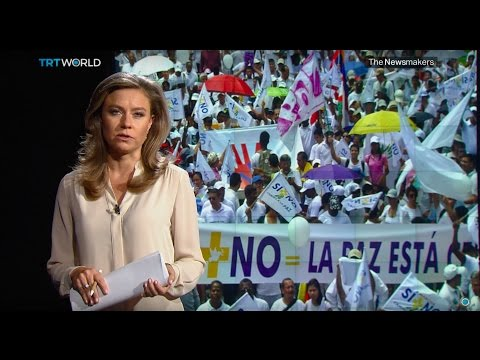 The Newsmakers: Divided Colombia and rebuilding Haiti