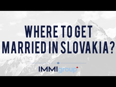Where to get married in Slovakia?