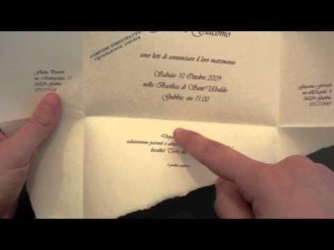 Come realizzare la partecipazione di nozze from YouTube · Duration:  23 seconds