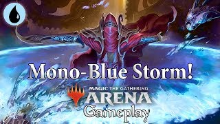 Magic Arena   Mono-Blue Storm