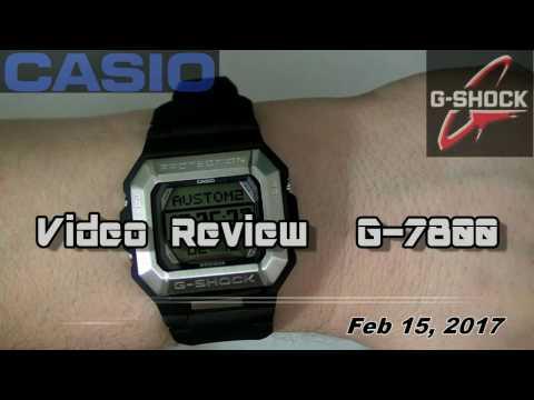 CASIO G Shock G-7800, Module 3163