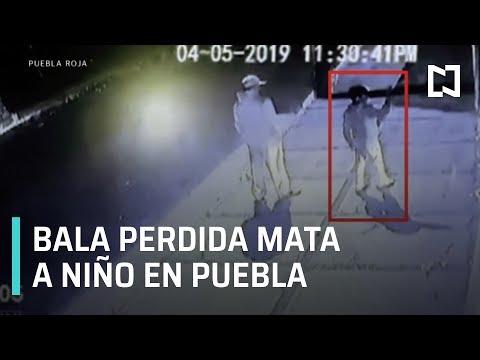 Bala perdida mata a niño en Puebla - En Punto con Denise Maerker