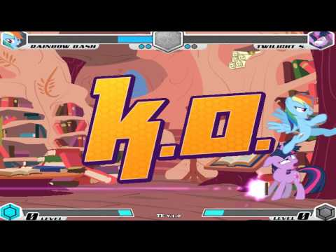 [MLP:FiM] Fighting Is Magic (Tribute Edition) [Gameplay]