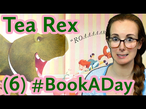 Children's Book Review: 'Tea Rex' by Molly Idle