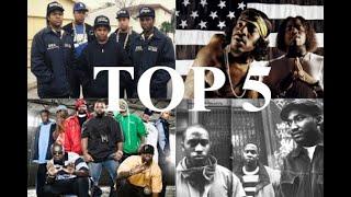 Top 5 Greatest Hip Hop Groups - New School