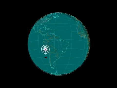 EQ3D ALERT: 1/14/18 - 7.2 magnitude earthquake in the South Pacific Ocean