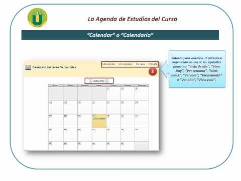 """la-agenda-de-estudios-o-calendario-""""calendar"""""""