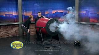 Amazing Smoke Ring Launcher - Giant Air Cannon