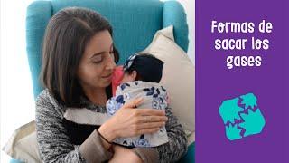 3 formas de sacar los gases a tu bebé