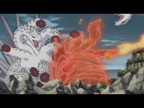 Orochimaru vs Itachi  English Dub  Naruto Shippuden